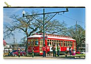 New Orleans Streetcar Carry-all Pouch