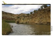 New Photographic Art Print For Sale Banks Of The Rio Grande New Mexico Carry-all Pouch