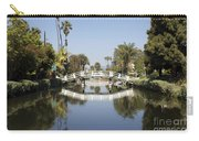 New Photographic Art Print For Sale Canals Of Venice California Carry-all Pouch