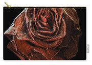 Perfect Gothic Red Rose Carry-all Pouch