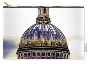 New Photographic Art Print For Sale   Iconic London St Paul's Cathedral Carry-all Pouch