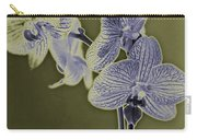 New Photographic Art Print For Sale Orchids 10 Carry-all Pouch