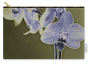 New Photographic Art Print For Sale Orchids 9 Carry-all Pouch