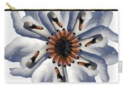New Photographic Art Print For Sale Pop Art Swan Flower On White Carry-all Pouch