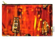 Transparent Orange Drum Backstage At The American Music Award Carry-all Pouch