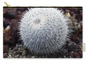 New Photographic Art Print For Sale White Ball Cactus Carry-all Pouch