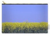 New Photographic Art Print For Sale Yellow English Fields 2 Carry-all Pouch