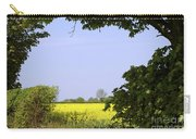 New Photographic Art Print For Sale Yellow English Fields 3 Carry-all Pouch