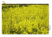 New Photographic Art Print For Sale Yellow English Fields 4 Carry-all Pouch