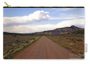 Red Road From The Benedictine Abbey Of Christ In The Desert New Mexico  Carry-all Pouch
