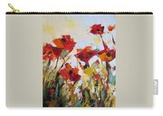 New Poppies Carry-all Pouch