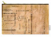 New Post Office Plans 1961 Carry-all Pouch