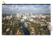 New River And Downtown Fort Lauderdale Carry-all Pouch