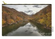 New River Fall Reflections Carry-all Pouch