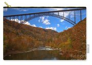 New River Gorge Fiery Fall Colors Carry-all Pouch