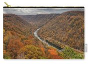 New River Gorge Overlook Fall Foliage Carry-all Pouch