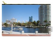 New River In Fort Lauderdale Carry-all Pouch