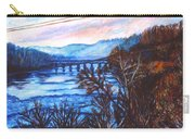 New River Trestle In Fall Carry-all Pouch