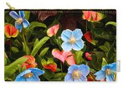 New World And Old World Exotic Flowers Carry-all Pouch
