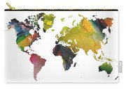 New World Map Carry-all Pouch