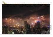 New Year Fireworks Carry-all Pouch by Ray Warren