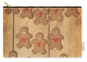 New Year Gingerbread Carry-all Pouch
