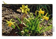 New Yellow Flowers 1 Carry-all Pouch