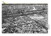 New York 1937 Aerial View  Carry-all Pouch