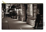 New York At Night - The Phone Call - Theatre District Carry-all Pouch
