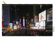 New York - Broadway And Times Square Carry-all Pouch