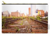 New York City - Abandoned Railroad Tracks Carry-all Pouch