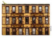 New York City Apartment Building Study Carry-all Pouch