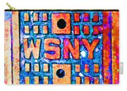 New York City Autumn Street Detail Pop Painting Carry-all Pouch