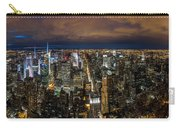 New York City By Night Carry-all Pouch