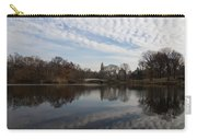 New York City Central Park Bow Bridge Quiet Reflections Carry-all Pouch