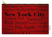 New York City Carry-all Pouch by Denyse and Laura Design Studio
