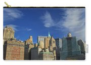 New York City From Central Park Carry-all Pouch by Dan Sproul