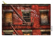 New York City Graffiti Building Carry-all Pouch