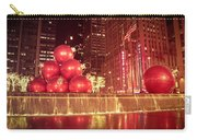 New York City Holiday Decorations Carry-all Pouch