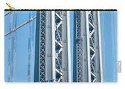 New York City Manhattan Bridge And Skyline Carry-all Pouch