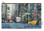 New York City Morning In The Street Carry-all Pouch