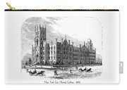 New York City Normal College - 1870 Carry-all Pouch