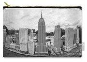 New York City Skyline - Lego Carry-all Pouch by Edward Fielding