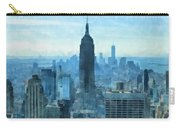 New York City Skyline Summer Day Carry-all Pouch