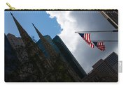 New York City Stars And Stripes Carry-all Pouch