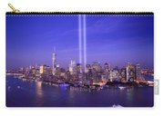 New York City Tribute In Lights World Trade Center Wtc Manhattan Nyc Carry-all Pouch