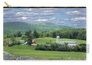 New York Farm Catskill Mountain Foothills Carry-all Pouch