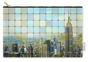 New York Golden Panorama Carry-all Pouch