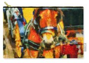 New York Horse And Carriage Carry-all Pouch