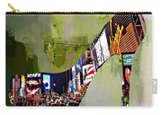 New York In A Shoe Carry-all Pouch